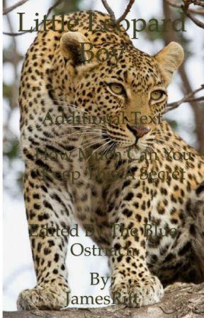 Little Leopard Boy! by JamesRift
