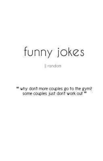 funny jokes » random