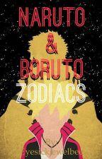 Naruto & Boruto Zodiacs by Eyesickjewelbee