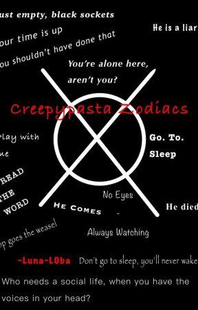 Creepypasta Zodiacs - The signs reaction to Slenderman - Wattpad