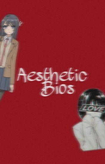 aesthetic bios snooze wattpad
