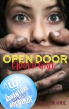 Open Door, Closed Gate by Ana_Orange