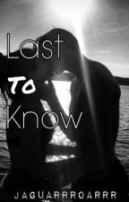 Last To Know (The Wanted) by jaguarrroarrr
