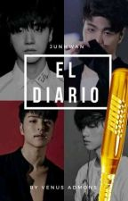 El Diario. JunHwan- iKON by VenusAdmons