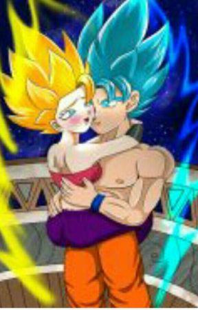 Tal para cual : Goku x caulifla by Nero_sparda64