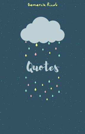 Quotes Tere Liye Rindu Wattpad
