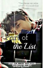 Part of the List (Exo Kai Fanfic) by jeexoxo