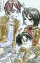 Mikasa, Levi, And eren react to ships by ErenMikaWritter450