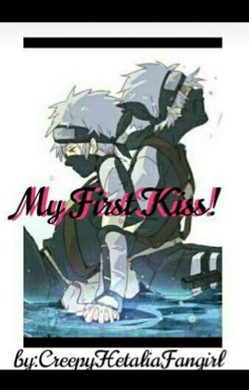 My First Kiss! (Kid! Kakashi X Neko!kid! Reader) One-shot