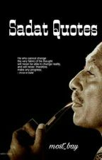 Sadat Quotes ✓ by most_bay