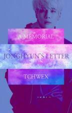 Jonghyun's last letter by -daddyjoon