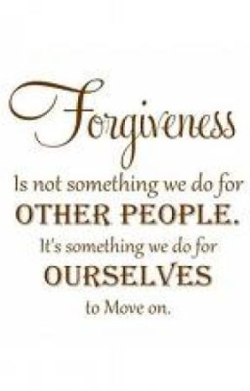 Forbear, Forgive, and Forget