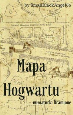 Mapa Hogwartu Miniaturki Dramione łazienka Jęczącej