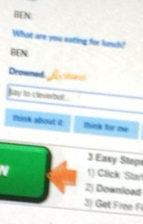 BEN_DROWNED/Cleverbot conversations by xX_Secretly_A_Cat_Xx