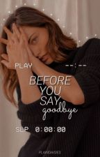 Before You Say Goodbye ⇾ S. Stan by plaindaisies