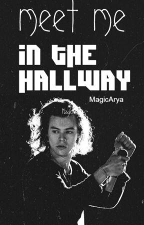 Meet me in the hallway [H.S] [SK] by MagicArya