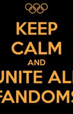 FANDOMS UNITE- writing competition by Paradise_in_words