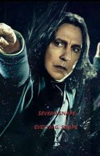 Severo Snape by evelyngrangersnape