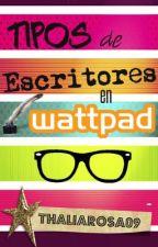 Tipos de Escritores en Wattpad by Thaliarosa09