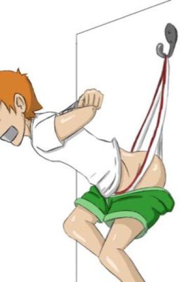 Anime boys in underwear