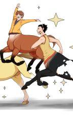 centaur x reader by kittygrill