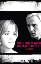 You'll find it where you least expect it (dramione) by streaksofgold