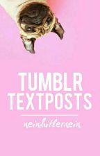 Tumblr Textposts by neinhitlernein