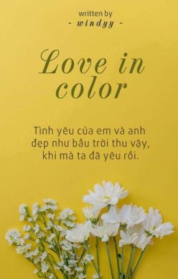 Đọc truyện |Chanhun| Love in color