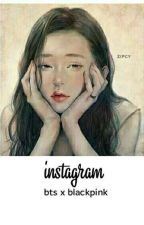 -› bts x blackpink II bangpink ‹- instagram by BangtanTaeGis