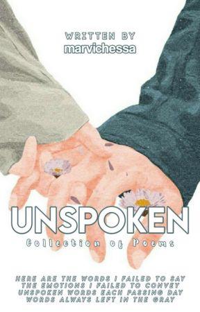 Unspoken by marchessa13