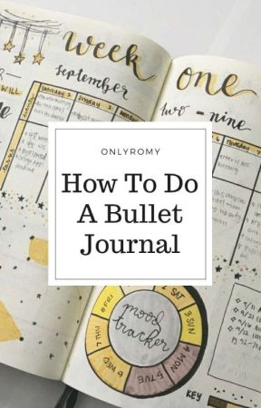 How To Do A Bullet Journal [en pause] by onlyromy