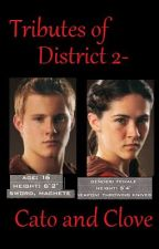 Tributes Of District 2- Cato and Clove by DarkDusk
