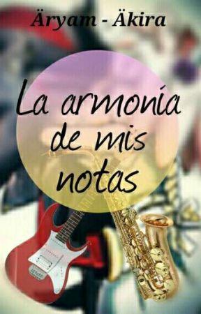 La armonía de mis notas (Shadamy) by MayraCyberDeOz
