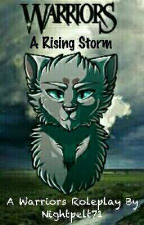 A Rising Storm // A Warrior Cat Roleplay by Nightpelt71