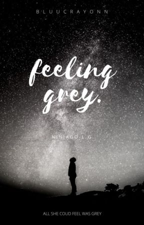feeling grey. [lloyd garmadon] by bluucrayonn