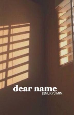 dear name by MLKYJIMIN