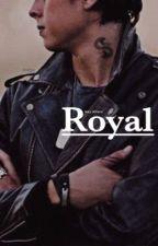 Royal {Sweet pea} by lexyleblanc