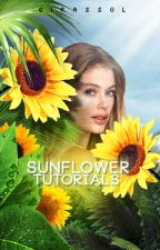 Sunflower Tutorials | Photoshop by withoutespinosa
