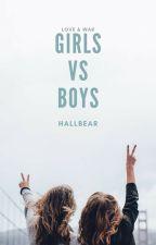 Girls V.S. Boys by Hallbear