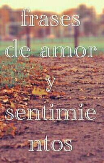 Frases De Amor Y Sentimientos Danaabigailparedes Wattpad