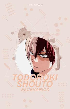 Todoroki Shouto Escenarios | [ p a u s a d o ] by -cosmicgxrl