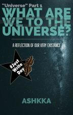 What Are We To The Universe? by Ashkka