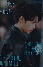 one month (lee felix x reader) ON HOLD by itsonlyrin