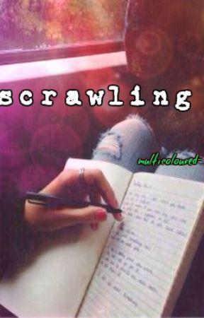scrawling by multicoloured-