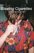 Stealing cigarettes    Reddie  by EddieToxier