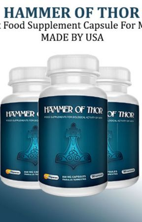 hammer of thor capsules in hafizabad food supplement usa capsule