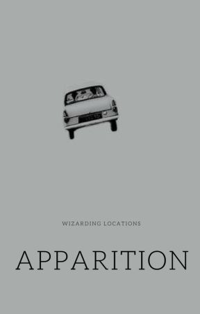 apparition | wizarding locations by underdoggos