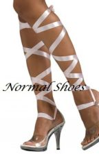 Normal Shoes by AnonymouslyA