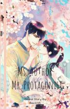 Ms. Author Vs Mr. Protagonist by B1ackDiA