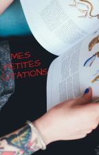 Mes petites Citations  by LisaSemder